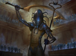 The-Scarab-God-Hour-of-Devastation-MtG-Art